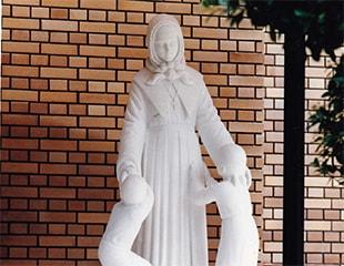 修道会創立者とC.N.D.
