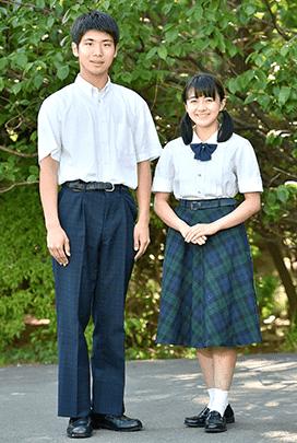 高等学校夏服