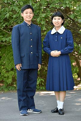 中学校冬服