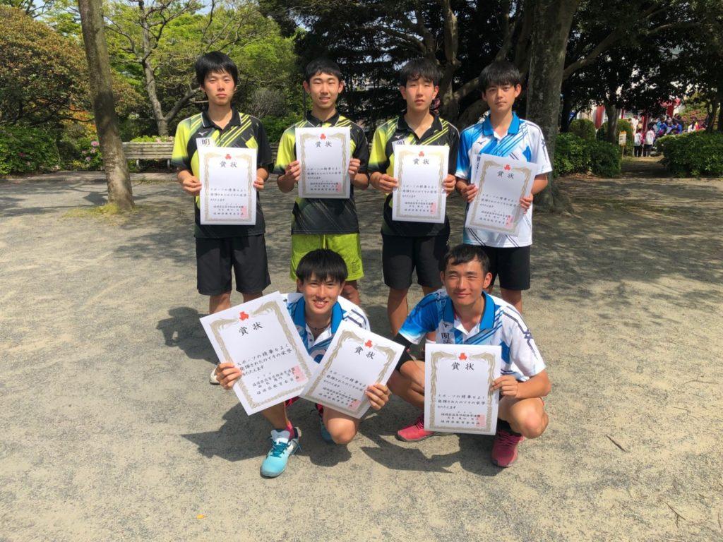 高校テニス部 男子団体